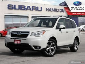 2015 Subaru Forester 2.5i Limited Package ONE OWNER | NO ACCI...