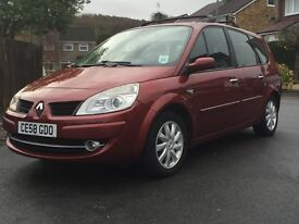 7 Seater Renault Grand Scenic dci diesel