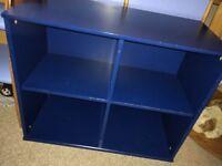 Blue cube unit
