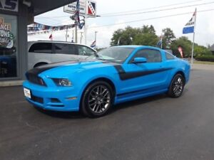 2013 Ford Mustang V6, Heated Leather Power Seats, BlueTooth