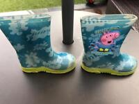 Peppa Pig toddlers wellies - Size 5 (baby)