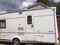 For sale Compass pentara (2005) £4,600 2 berth touring caravan York