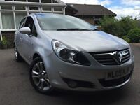 *12 MONTHS WARRANTY*2009(09)VAUXHALL CORSA 1.4 SXI 5DR WITH 11 MONTHS MOT*1 FORMER KEEPER SINCE NEW*