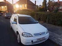 Nice Vauxhall astra van white gas bi fuel 2005 plate