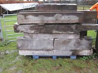 Timber Lintols - Reclaimed - 25 No - Various sizes