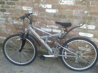 Nice mountain bike 18 speed