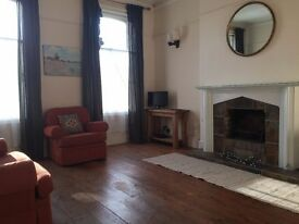 NO FEES. Character 2-bed apartment in period townhouse, Dorchester Road. Newly redecorated.