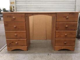 Pine dressing table new