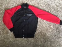 Genuine HH Red and Black Lightweight Bomber