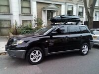 Black Mitsubishi Outlander, 4x4, AUTO with Roof BOX, DVD/USB/DIVx, for sale