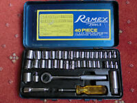 Ramex 39 Piece Socket Set - Ascot Berkshire