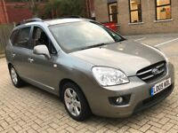 2009 KIA CARENS 2.0 LS CRDI AUTOMATIC DIESEL 7 SEAT FAMILY CAR SPACIOUS MOT N SHARAN GALAXY SEDONA
