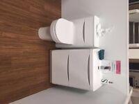 Ex display Basin unit with match WC unit