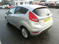 2010 59 FORD FIESTA 1.4 TITANIUM TDCI 5D 68 BHP***GUARANTEED FINANCE***PART EX WELCOME***