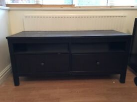 Ikea black TV stand - BARGAIN
