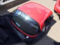 Mazda MX5 hardtop roof