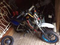 90cc semi-auto pitbike