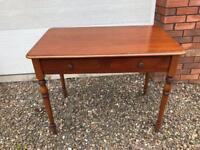 Heavy occasional hall table £45