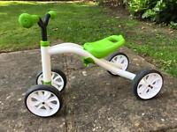 Unused Chillafish balance bike.