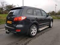Hyundai Santa Fe 2.2 CRTD CDX+ 4WD DVD REAR SCREEN 12 MONTHS MOT LEATHER SIDE STEP DRL HID LIGHTS