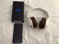 Samsung galaxy s8 64gb midnight black Sim free ( unlocked ) 4g