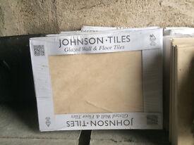 Johnsons natural beauty -Sand, Tiles (15 boxes & Border tiles)