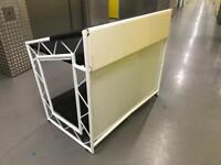 Brand New Liteconsole XPRS Stand - White - Boxed ( DJ EQUIPMENT STAND PIONEER CDJ DJM TECHNICS 1210