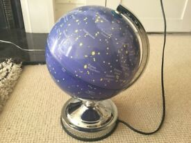 Constellation Globe Light, great for a kid's room, perfect condition