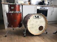 SJC drums 3 Piece kit