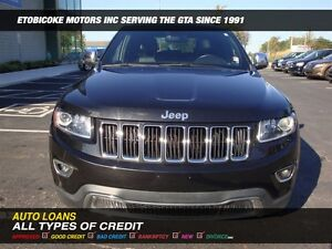2014 Jeep Grand Cherokee 4X4 / LEATHER / SUN-ROOF / BACK-UP CAM