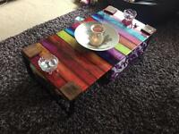 Lovely glass coffee table