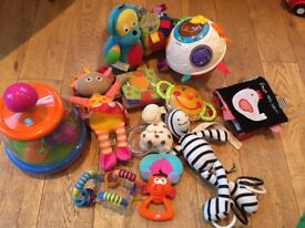 Baby toy bundle including vtech