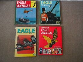 Vinta Eagle annuals & Best of Eagle by Denis Gifford - offers invited - can sell separately