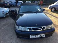 SAAB 93 2.0 TURBO CONVERTIBLE SPARES OR REPAIR