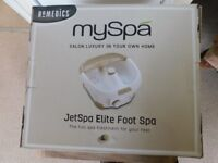 My Spa Jetspa elite foot spa