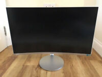 27in Curved Samsung Gaming Monitor 1080p LED HDMI - Built-in Speakers