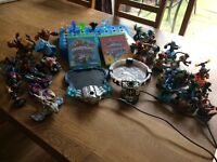 Skylanders games traps and characters