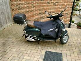 Vespa ET4 125 British racing green