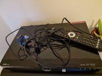 Humax Set top box PVR Freeview+ HD digital TV recorder - HDR-FOXT2-G