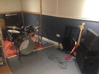 Music Studio / Rehearsal Space available in Battersea South London - excellent rates/deals