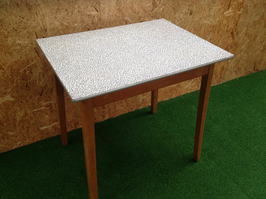 Retro Formica Kitchen Table 1950s Retro Small Formica Top Kitchen Table In Warmley Bristol