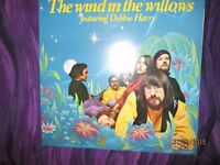 RARE BLONDIE / DEBBIE HARRY WIND IN THE WILLOWS LP HAVE A FEW OTHER BLONDIE ITEMS