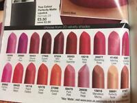 Matte lipstick samples
