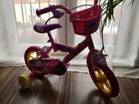 Peppa pig bike & Princess scooter