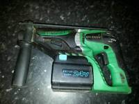 Hi for sale Hitachi hd 240v cordles hamer drill found in shed! Untested! No charger! Can post it!