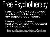 Central London - Free Psychotherapy