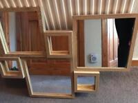 Next Oak Opus Range Coffee Table & Mirror