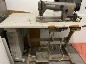 Vintage Industrial Sewing Machine