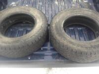 **Reduced** 2 used Ford F150 truck tires