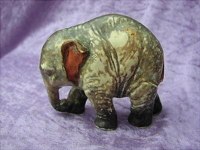 Alter Keramik Elefant Czechosliwakia Böhmen um 1930